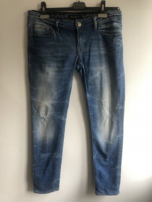 Mavi Jeans Co. Tube jeans donkerblauw-korenblauw