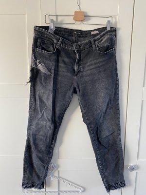 Mavi Jeans a 7/8 antracite-nero Cotone