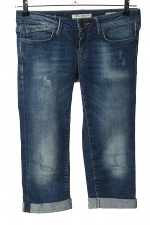 Mavi Jeans Co. 3/4-jeans blauw casual uitstraling
