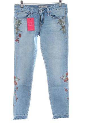 Mavi Jeans Co. 7/8 Jeans Blumenmuster Casual-Look