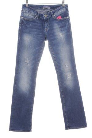 Mavi Jeans Co. Boot Cut Jeans blau Casual-Look