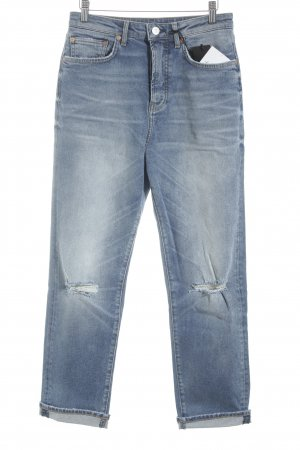 Mavi Jeans Co. Boyfriendjeans blau Casual-Look