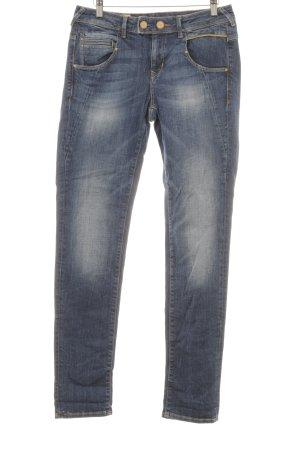 Mavi Jeans Co. Boyfriendjeans dunkelblau schlichter Stil
