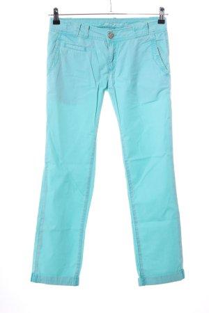 Mavi Jeans Co. Chino turquesa look casual