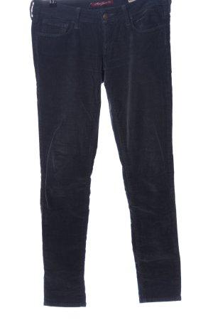 Mavi Jeans Co. Pantalon en velours côtelé bleu style décontracté