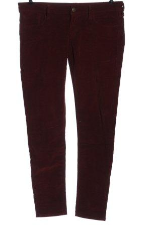 Mavi Jeans Co. Cordhose rot Streifenmuster Casual-Look