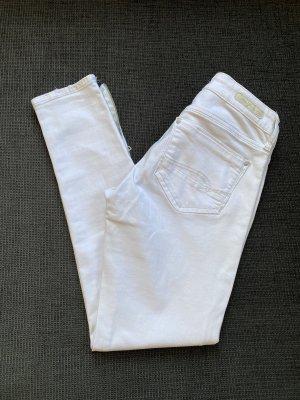 Mavi Jeans Co. Damen Jeanshose Weiß Gr. 25 wie NEU !!