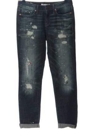 Mavi Jeans Co. Jeans taille haute bleu style décontracté