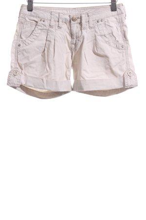 Mavi Jeans Co. Hot pants bianco sporco stile casual