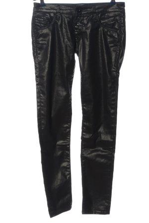 Mavi Jeans Co. Hüfthose schwarz Casual-Look