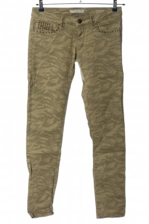 Mavi Jeans Co. Hüfthose khaki-creme Allover-Druck Casual-Look