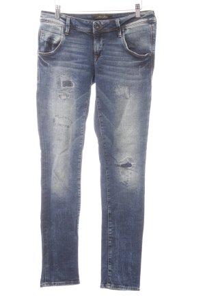 Mavi Jeans Co. Jeans vita bassa blu pallido-blu scuro stile casual