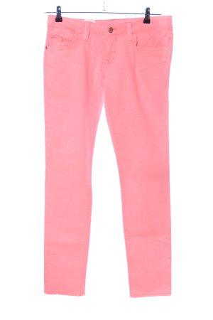 Mavi Jeans Co. Jeans vita bassa rosa stile casual