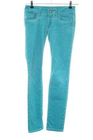Mavi Jeans Co. Jeans vita bassa turchese stile casual