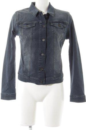 Mavi Jeans Co. Jeansjacke blau Jeans-Optik