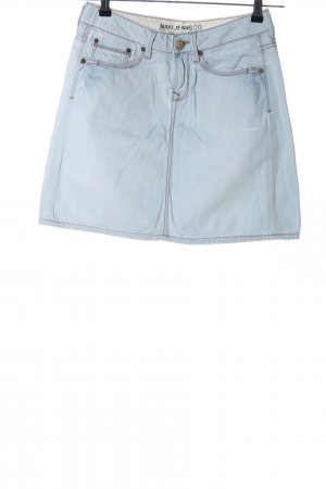 Mavi Jeans Co. Jeansrock blau Casual-Look