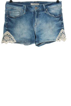 Mavi Jeans Co. Pantaloncino di jeans blu stile casual