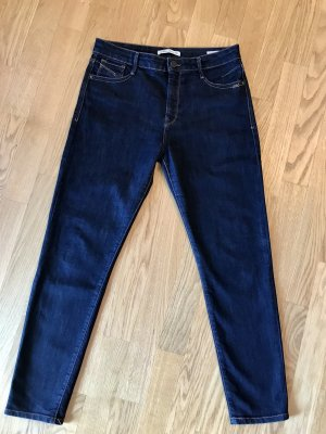 Mavi Jeans Co.: Lucy Super High-Rise, Super Skinny Jeans 30 / 32 Dunkelblau