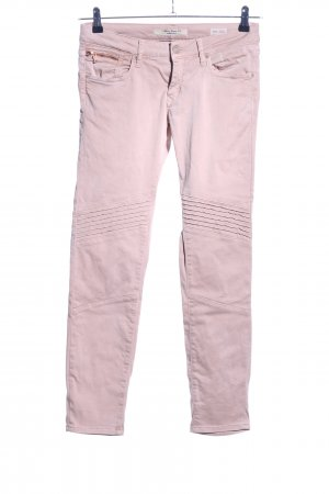 Mavi Jeans Co. Pantalone a sigaretta rosa stile casual