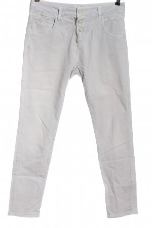 Mavi Jeans Co. Pantalone a sigaretta grigio chiaro stile casual