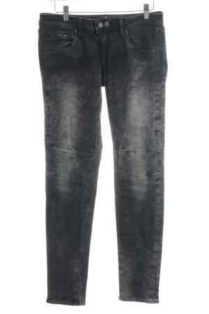 Mavi Jeans Co. Pantalone a sigaretta nero-grigio chiaro Colore sfumato