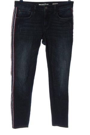 Mavi Jeans Co. Röhrenjeans blau Streifenmuster Casual-Look