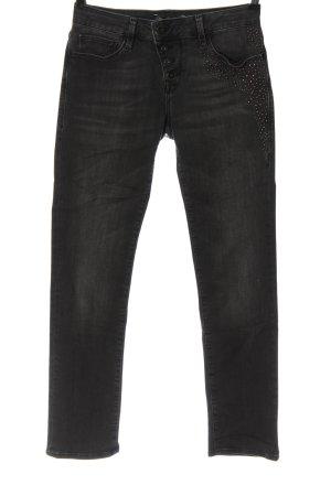 Mavi Jeans Co. Röhrenjeans hellgrau Casual-Look
