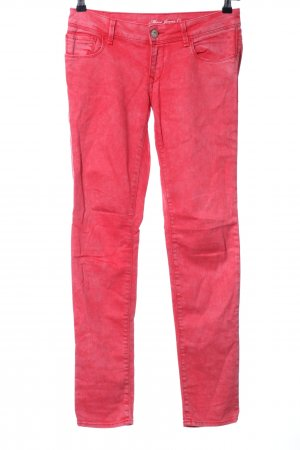 Mavi Jeans Co. Röhrenjeans rot Casual-Look