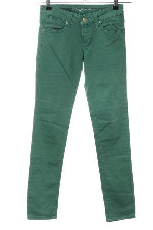 Mavi Jeans Co. Skinny Jeans grün Casual-Look
