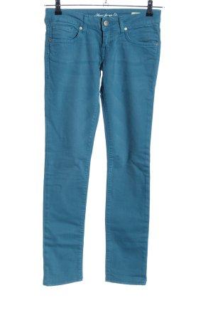 Mavi Jeans Co. Skinny Jeans blau Casual-Look