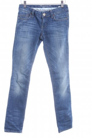 Mavi Jeans Co. Skinny Jeans blau Washed-Optik