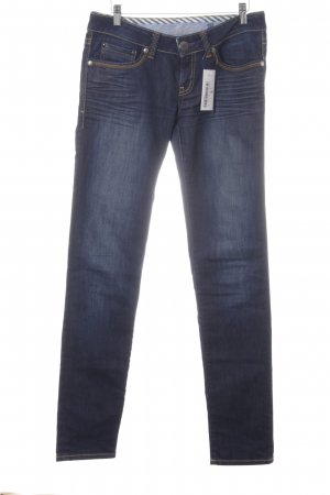 Mavi Jeans Co. Skinny Jeans dunkelblau Washed-Optik