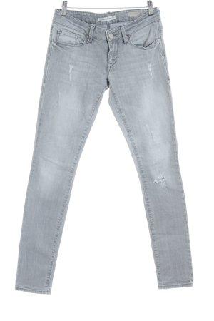 Mavi Jeans Co. Skinny Jeans hellgrau-grau Casual-Look