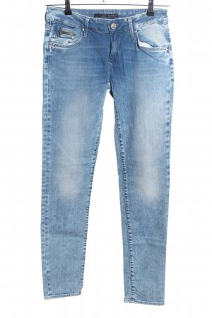 Mavi Jeans Co. Slim Jeans blau Casual-Look