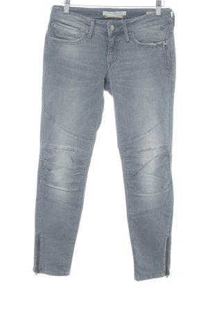 Mavi Jeans Co. Slim Jeans grau Casual-Look