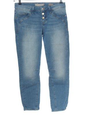 Mavi Jeans Co. Jeansy z prostymi nogawkami niebieski W stylu casual