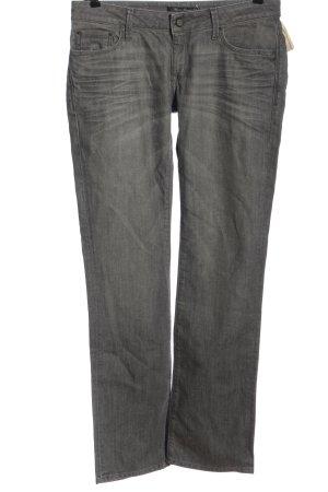 Mavi Jeans Co. Jeansy z prostymi nogawkami jasnoszary W stylu casual