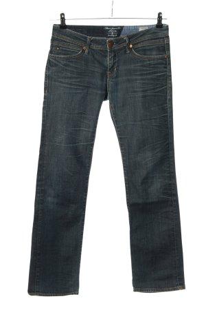 Mavi Jeans Co. Straight-Leg Jeans blau Casual-Look