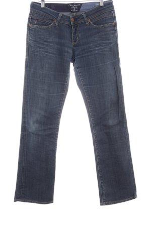 Mavi Jeans Co. Jeansy z prostymi nogawkami ciemnoniebieski W stylu casual