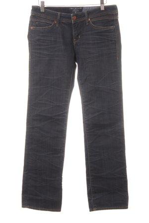 Mavi Jeans Co. Jeansy z prostymi nogawkami szary niebieski W stylu casual