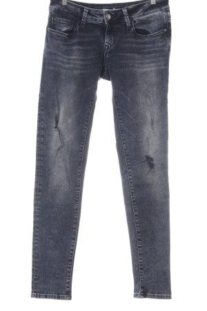 Mavi Jeans Co. Jeansy z prostymi nogawkami szary niebieski-ciemnoniebieski