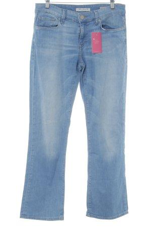 Mavi Jeans Co. Jeansy z prostymi nogawkami błękitny Melanżowy Efekt znoszenia