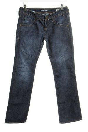 """Mavi Jeans Co. Jeansy z prostymi nogawkami """"Olivia"""" ciemnoniebieski"""