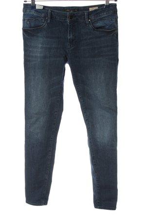 Mavi Jeans Co. Stretch Jeans blau Casual-Look