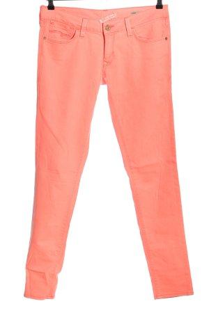 Mavi Jeans Co. Stretch Jeans hellorange Casual-Look