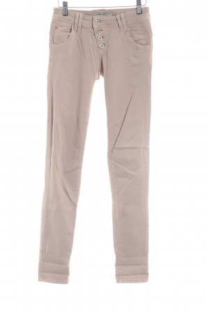 Mavi Jeans Co. Stretch broek stoffig roze casual uitstraling