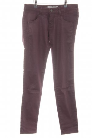 Mavi Jeans Co. Stretchhose brombeerrot Casual-Look
