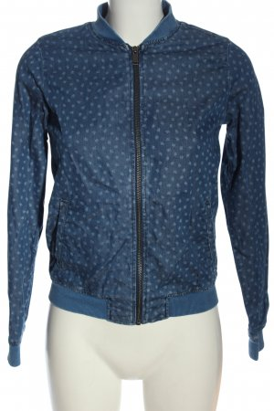 Mavi Jeans Co. Übergangsjacke blau Allover-Druck Casual-Look