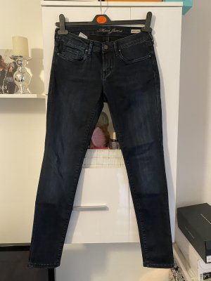 Mavi Jeans Damen Dunkelblau Low Rise Skinny w29/L30