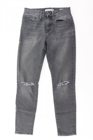 Mavi Jeans Größe W26 grau aus Baumwolle